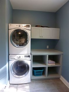 """Visit our web site for additional relevant information on """"laundry room storage diy small"""". It is an outstanding area to learn more. Laundry Room Layouts, Laundry Room Remodel, Laundry Closet, Small Laundry Rooms, Laundry Room Organization, Laundry Room Design, Closet Storage, Diy Storage, Storage Shelves"""