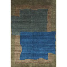@Overstock - Soft and exquisite as Nepalese collection, Made from the softest New Zealand yarn, This Nepalese collection rug is precision knotted using ancient Nepalese and Indian techniques. This rug features a geometric design.http://www.overstock.com/Home-Garden/Hand-knotted-New-Zealand-Wool-Rug-6-x-9/6824850/product.html?CID=214117 $433.79