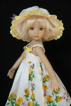 """Simpler Times 2 ~ OOAK Outfit for Effner 13"""" Little Darling ~ by Glorias Garden"""