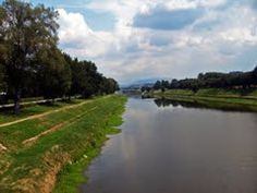 go for a run along the arno in florence!