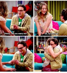 the big bang theory! Tbbt, Leonard And Penny, Best Tv Couples, Soft Kitty Warm Kitty, Great Comedies, Sometimes I Wonder, Tv Land, Big Bang Theory, Best Shows Ever