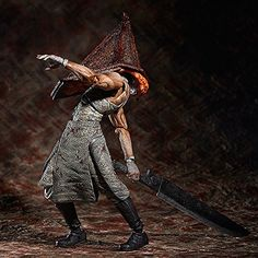 Beyond Creepy Pyramid Head Statue From Silent Hill 2 ...Silent Hill Revelation Pyramid Head Fight Scene