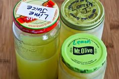 Freezing fresh lemon juice and lime juice so you will always have it on hand!