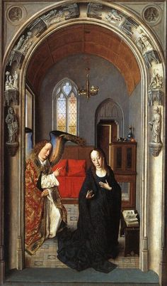 Bouts, Dieric - The Annunciation