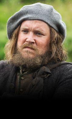 Grant O'Rourke, Rupert MacKenzie - Cousin of Colum and Dougal. Tacksman of clan MacKenzie - Outlander (TV Series, 2014- ) #dianagabaldon