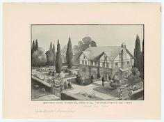 Gardens of Craftsman houses (1890-1930)