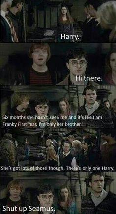 Haha oh Ron