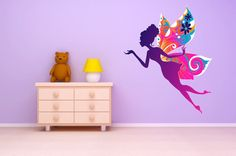 I found 'Wall Decal Rainbow Fairy.' on Wish, check it out!