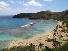 Hanauma Bay, Hawaii, Verenigde Staten,  We snorkeled when we were there.