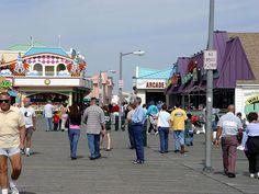 Boardwalk at Point Pleasant Beach, NJ