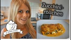 Zucchiniröllchen in Tomatenrahm - Thermomix® - Rezept von Vanys Küche Turkey, Low Carb, Meat, Youtube, Food, Grated Cheese, Eggplants, Souffle Dish, Spinach