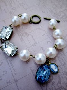upycled vintage jewelry