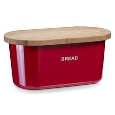 Official Website Kitchencraft Printed Steel Bread Bin Latest Technology Maison