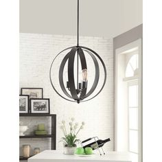 Above kitchen table?