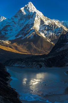 Ama Dablam from Dzonghla | Nepal