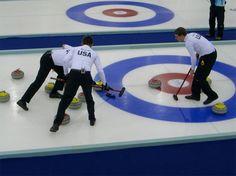 I know it's kinda un-American but I love curling.