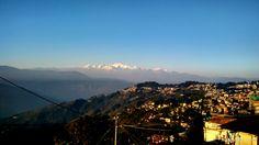View from hotel in Darjeeling