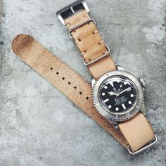 Strap - $160? - you could get this for you Daniel Wellington watch -- B&S Hand-made Nubuck Leather Nato Strap 20mm