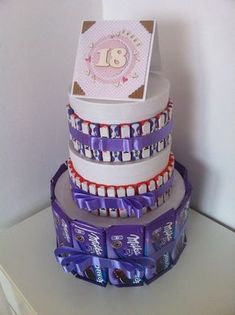 Diy Crafts Hacks, Diy And Crafts, Boite Explosive, Present For Husband, Open When Letters, 18th, Cake Toppers, Presents, Birthday Cake