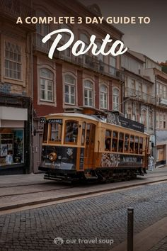Porto is an amazing city with so much beauty and history. This detailed 3 day guide takes you on a fun walking tour through the city. You'll see buildings covered with azulejos, gorgeous baroque churches, charming alleyways, and stunning river views. We also give tips on where to stay, what to eat, and day trips outside of Porto. Have the best time in this wonderful city in northern Portugal! #portugaltravel #europetravel #cityguides #travelguide #itineraries #porto #cities #travelsinspiration Portugal Travel Guide, Europe Travel Guide, Europe Destinations, Amazing Destinations, Us Travel, Travel Guides, Travel Tips, Europe Photos, Travel Photos