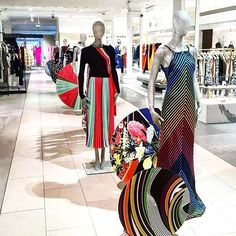 Visit our pop up space @harrods #rainbow #res16 #marykatrantzou