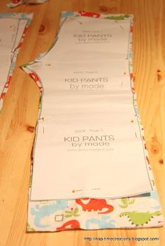 naptime creations: My Pajama Obsession! Resizing a pants pattern {tutorial}