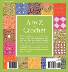 A To Z Of Crochet: The Ultimate Guide For The Beginner To Advanced Crocheter By Martingale - (amazon)