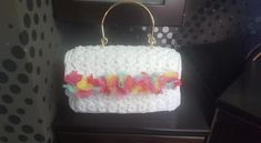 Handmade bag Jasmine Stitch Handmade Bags, Jasmine, Stitch, Crochet, Handmade Handbags, Full Stop, Ganchillo, Crocheting, Knits
