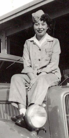 1st Native American Woman Marine, Minnie Spotted Wolf of Heart Butte, MT, served from 1943 till 1947.