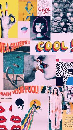 Trendy Wallpaper Iphone Vintage Retro Design Source by ximeline Artsy Wallpaper Iphone, Trendy Wallpaper, Tumblr Wallpaper, Cute Wallpapers, Wallpaper Backgrounds, Wallpaper Art, Galaxy Wallpaper, Vintage Backgrounds, Mobile Wallpaper
