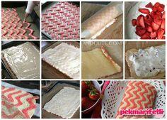 Zikzak desenli rulo pasta yapımı | Mutfak | Pek Marifetli!