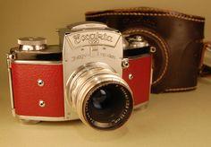 #camera #vintage #etsy $470 #red #exakta