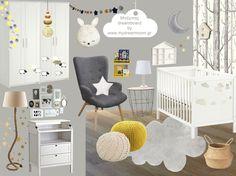Baby boy's_dreamboard by www.mydreamroom.gr