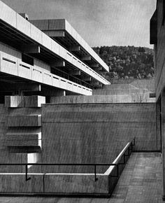 Elementary and Secondary Schools, Stuttgart, Germany, 1960s (Hans Kammerer and Walter Belz)