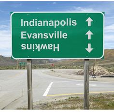 stuff like this makes me laugh because so many stranger things fans CLEARLY haven't been to Indiana because Indianapolis is in the heart of Indiana, while Evansville is right on the border of Kentucky and the Ohio river so this sign is not possible unless you're seeing this sign in Kentucky going north eastward from the southwest MAYBE, but even still then you'd be saying that Hawkins is in Kentucky and not Indiana because the way the Ohio river sits IT'S JUST NOT POSSIBLE