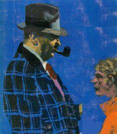 Simenon Simenon. Il sabato è un racconto. Questo ce lo propone Paolo Secondini e vede Maigret alle prese con intervistatore dodicenne...