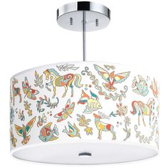 Ceiling Lights & Fans Genteel Yooe Modern Ceiling Lamps For Children Room Deco Surface Mount Flush Panel Remote Control Led Ceiling Lights