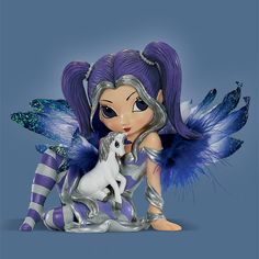 Burning Desires is the best place online to shop for fairy figurines, dragon figures, and Bradford exchange collectibles. Mythical Dragons, Unicorn And Fairies, Mermaid Fairy, Fairy Pictures, Gothic Fairy, Fairy Figurines, Crochet Fairy, Beautiful Fairies, Believe In Magic