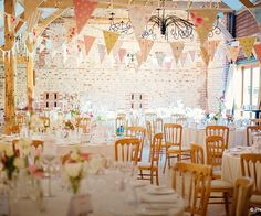 Barn wedding reception - Upwaltham Barns in West Sussex