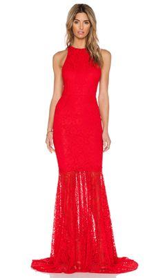 SAU Sara Gown in Red   REVOLVE