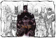 The Bat Family by Ardian Syaf