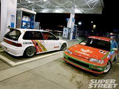 Honda Civic Ef, Kanjo Racing