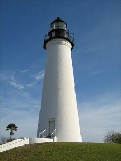 Port Isabel Lighthouse, Texas, USA - just the other side of the bridge from South Padre Island.