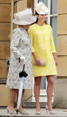 The Duchess of Cornwall and Duchess of Cambridge