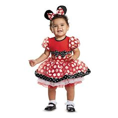 Quality materials used to make Disguise products Fun, Colorful, Inventive designs to put you in the world of role play Whether it's Halloween, birthday parties, or even a fun filled night, disguise is good for everything! Disguise Baby Girls' Red Minnie Prestige Infant Costume, Red, 12-18 Months
