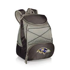 Baltimore Ravens PTX Backpack Cooler - Black