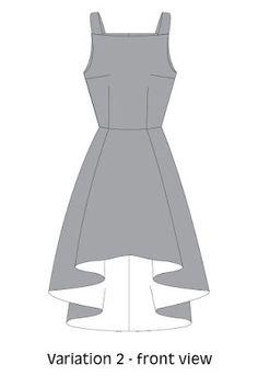 MyLucky Sew: Flora Dress