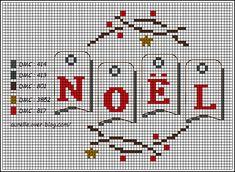 Grille gratuite Noël 2017 Cross Stitch Kits, Cross Stitch Charts, Cross Stitch Patterns, Cross Stitching, Cross Stitch Embroidery, Christmas Cross, Christmas Ornaments, Diy Broderie, Cross Stitch Magazines