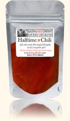 Halftime Chili 2 lbs ground beef, pork, turkey or lamb (we usually mix ...