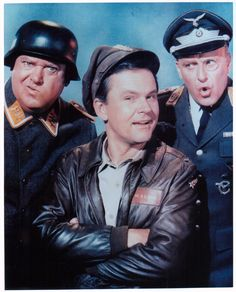Tonight 9-17 in 1965, we said hello to Col. Hogan, Col Klink and Sgt. Schultz for the first time when Hogan's Hero's debuted on CBS.